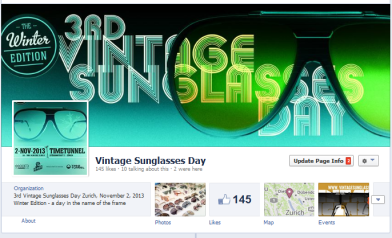 Vintage Sunglasses Day on Facebook