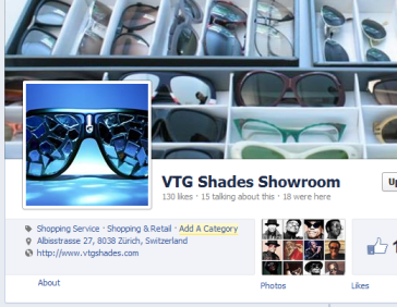 VTG Shades Showroom