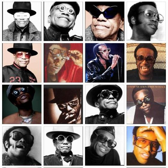 Bobby Womack Vintage Sunglasses